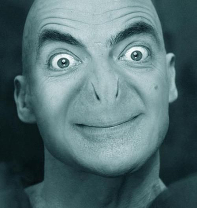 What if Mr Bean played Voldemort