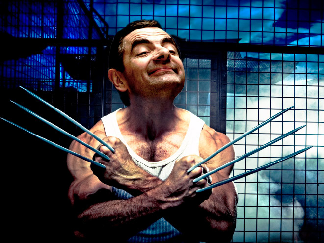 What if Mr Bean played Wolverine