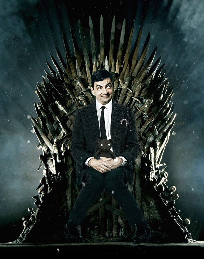 What if Mr Bean played in Game of Thrones