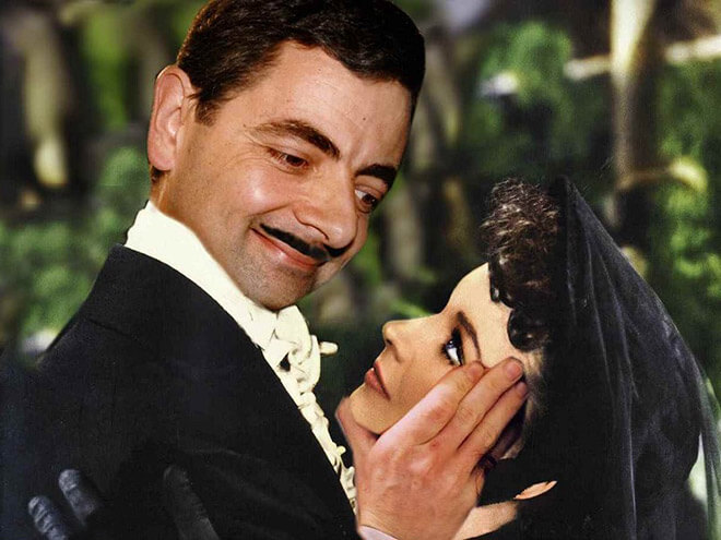 What if Mr Bean played in Gone with the Wind