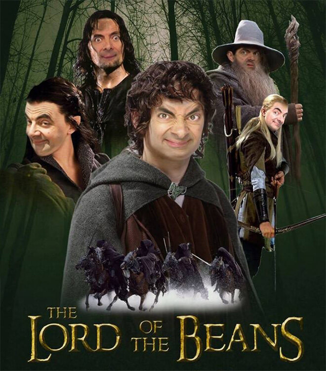 What if Mr Bean played in Lord of the Rings