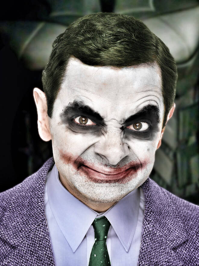 What if Mr Bean played the Joker
