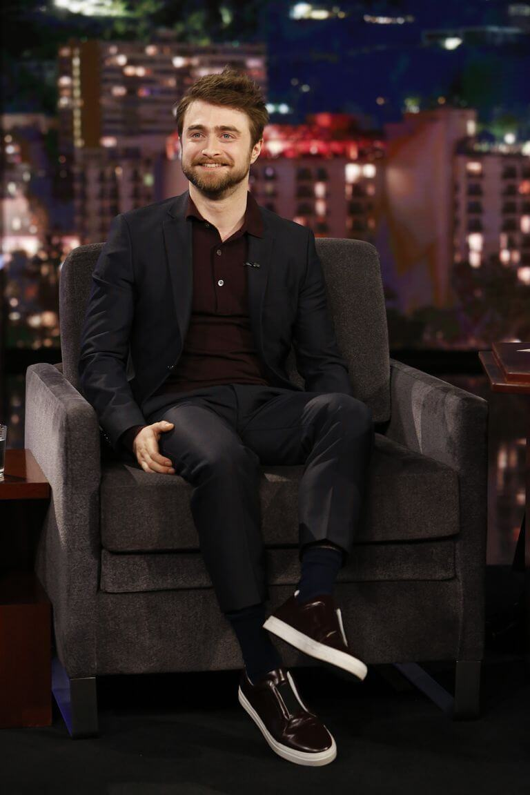 celebrities don't drink alcohol_Daniel Radcliffe