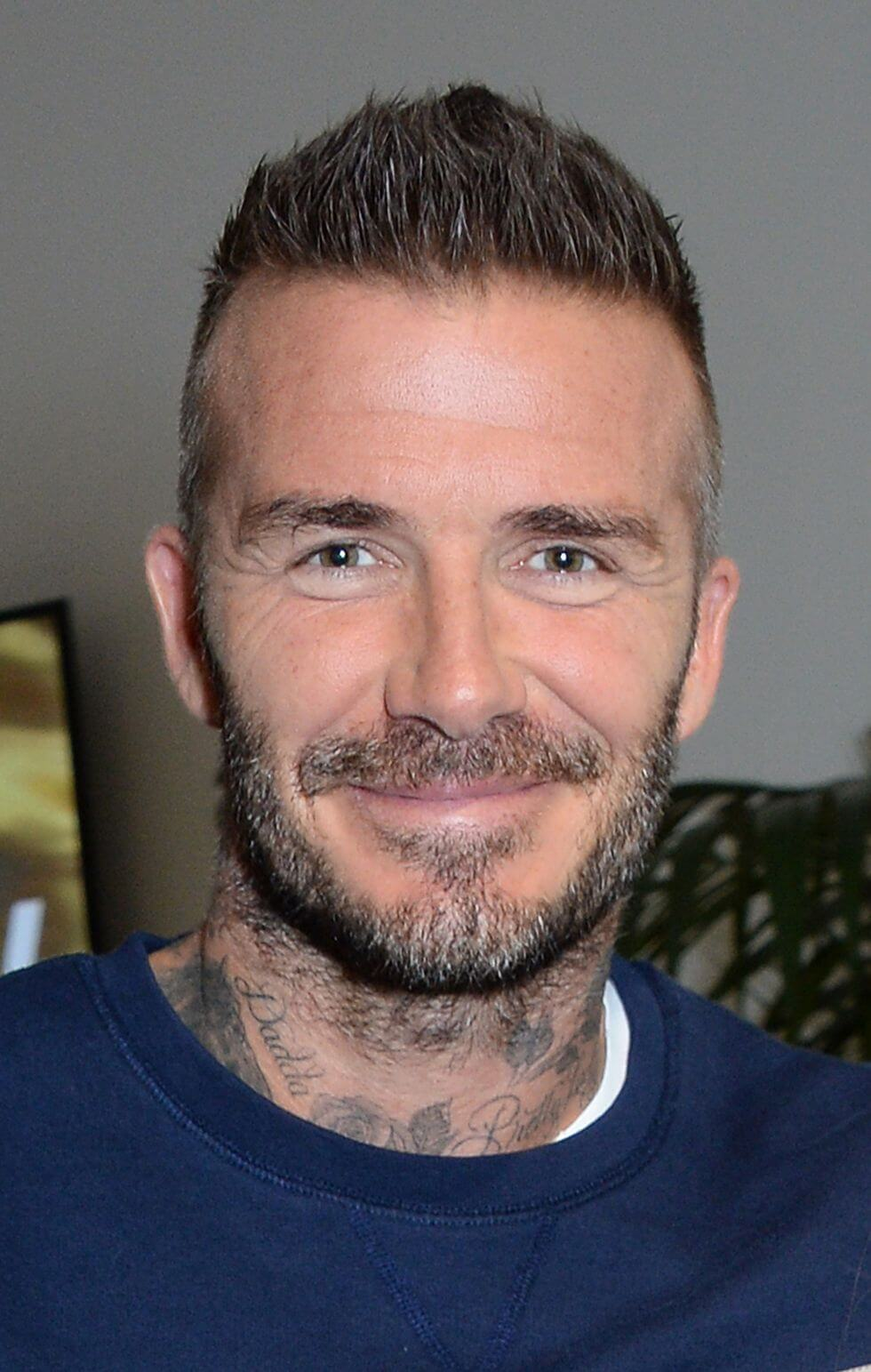 celebrities don't drink alcohol_David Beckham