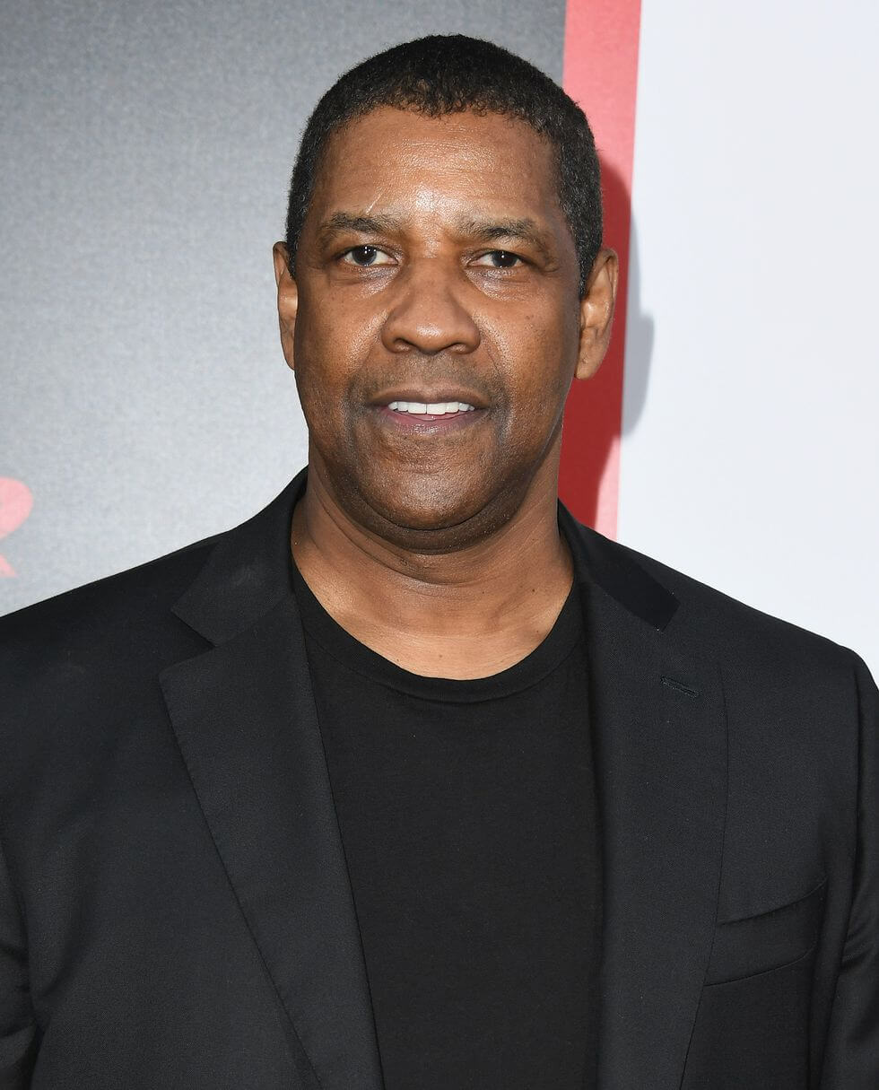 celebrities don't drink alcohol_Denzel Washington