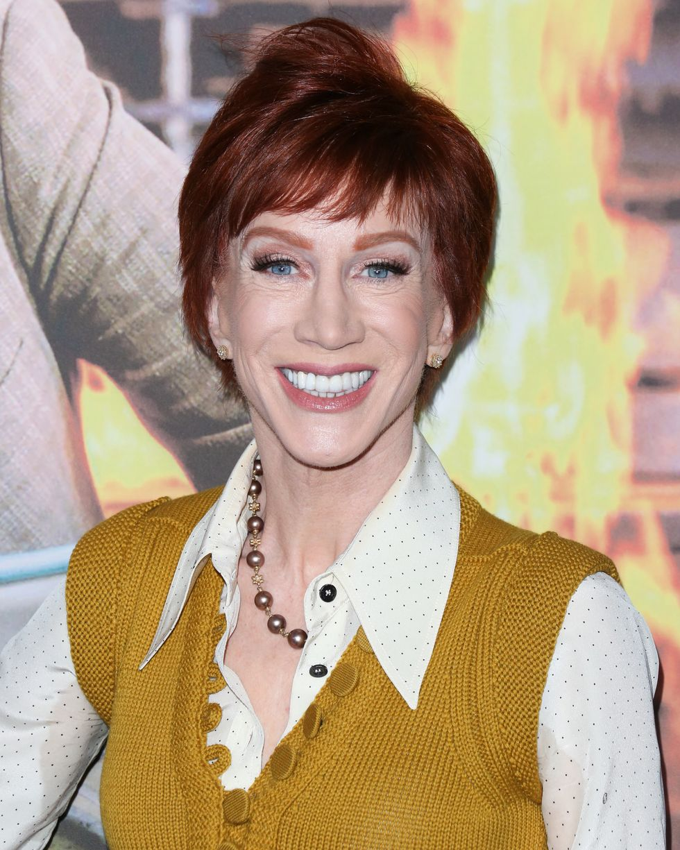 celebrities don't drink alcohol_Kathy Griffin