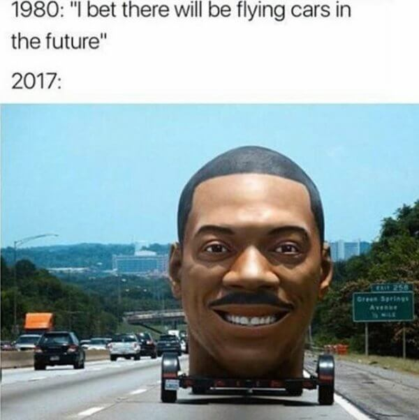 i bet in the future there will be flying cars