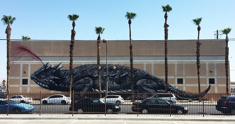 """""""Horned Toad"""" by ROA"""