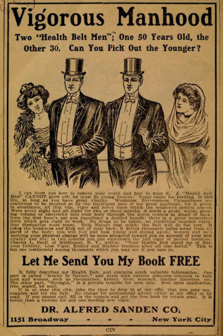 1910 ads