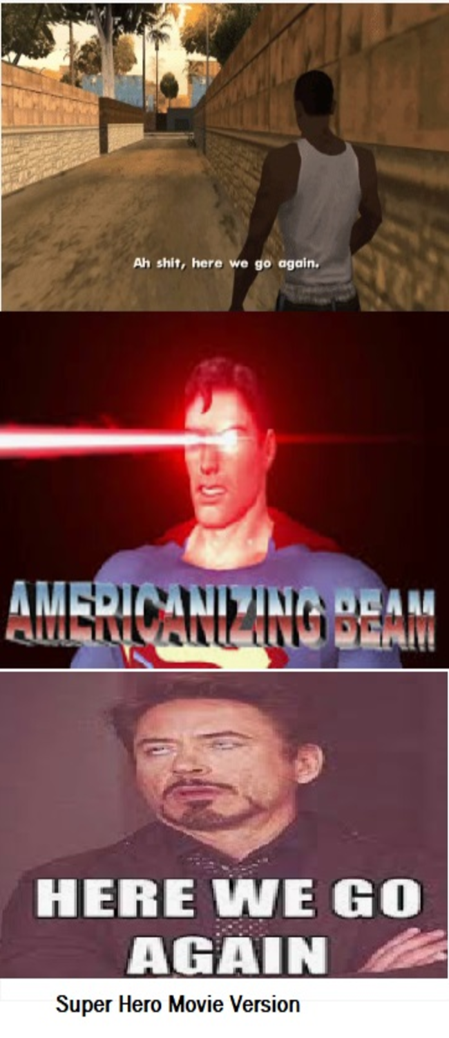 Americanizing Beam: Team Fortress 2 x Superman x Tony Stark - we are in the beam