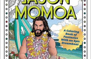 Jason Mamoa colouring book