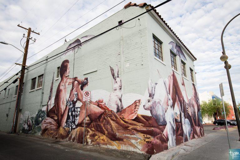 Murals by Fintan Magee
