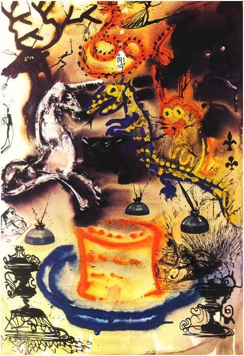 dark abstract artwork