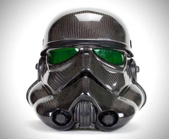 Stormtrooper bicycle helmet