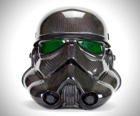Stormtrooper bicycle helmet