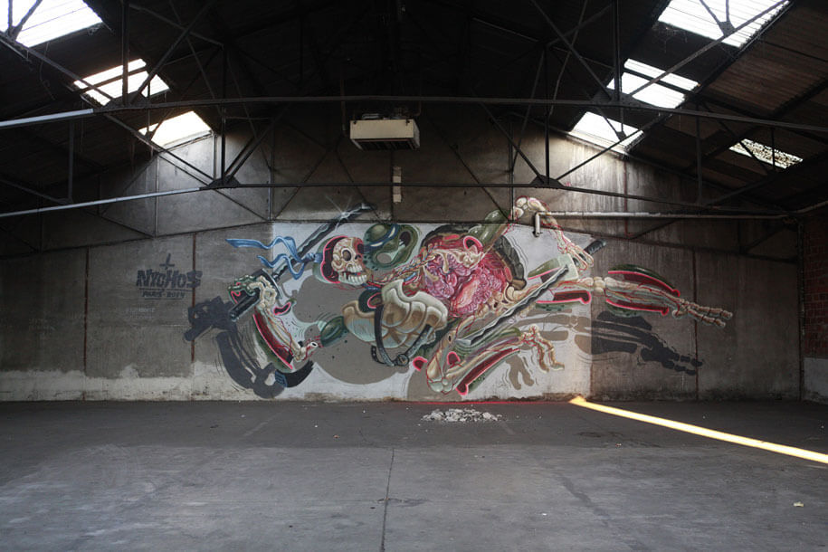 cartoon-character-animal-dissection-street-art-nychos-8