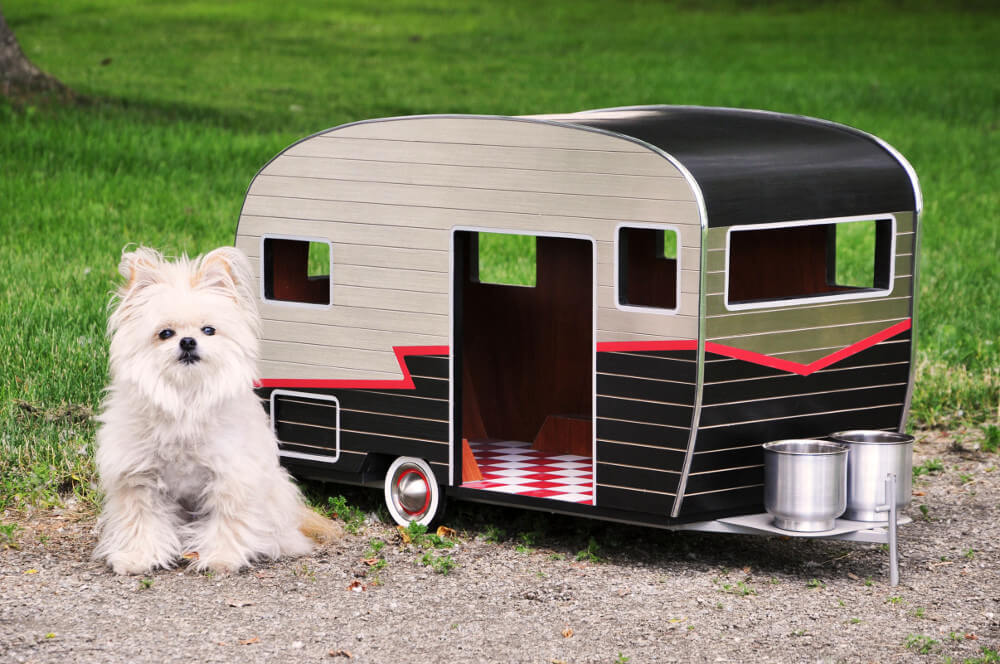 travel trailer dog houses