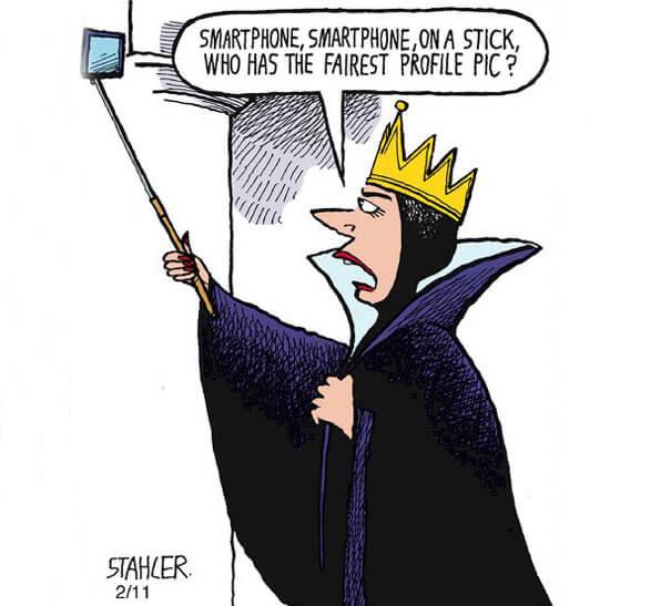 phone addiction art illustrations