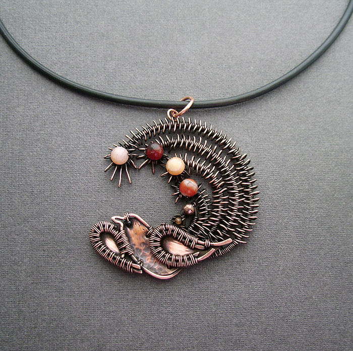 wire wrap art