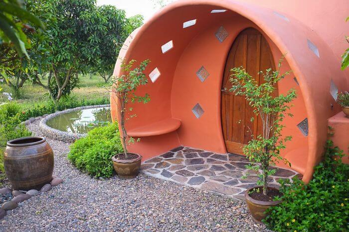 tiny dome home