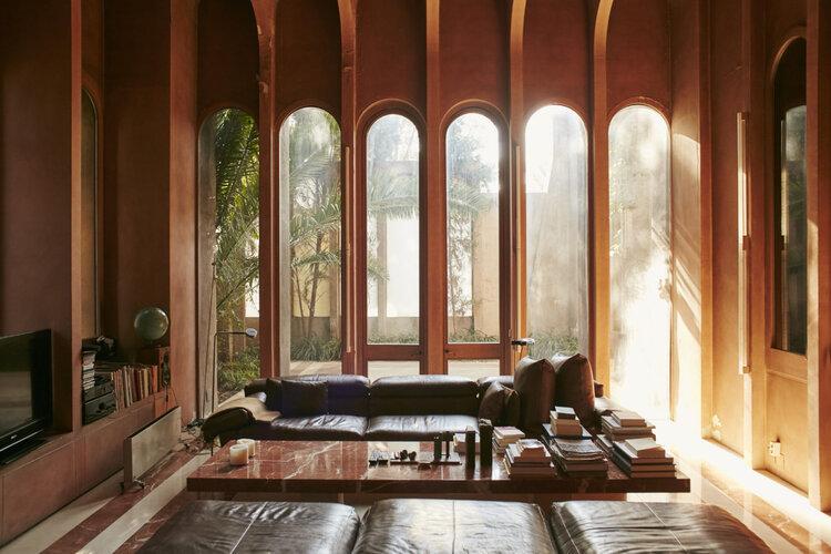 Architect Ricardo Bofill La Fabrica lounge