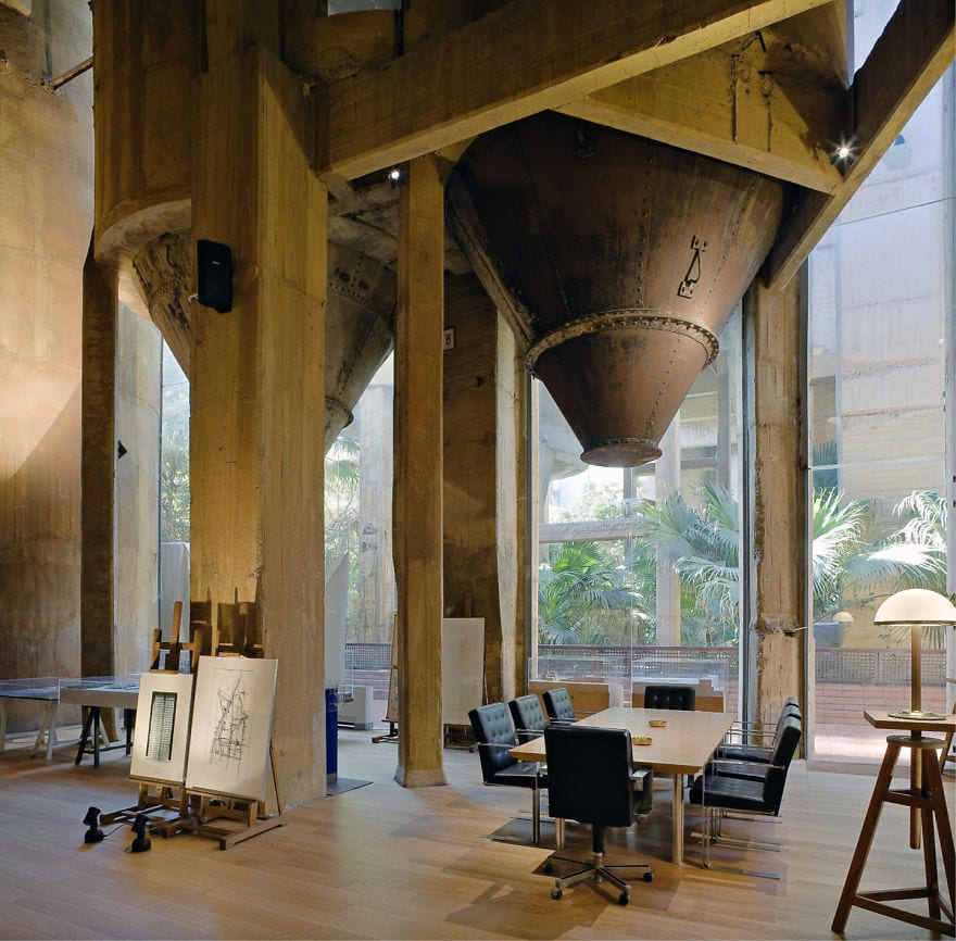 Architect Ricardo Bofill conference room