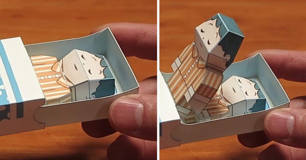 Haruki Nakamura Paper Toys