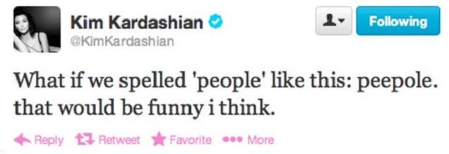 Kim Kardashian deleted tweets