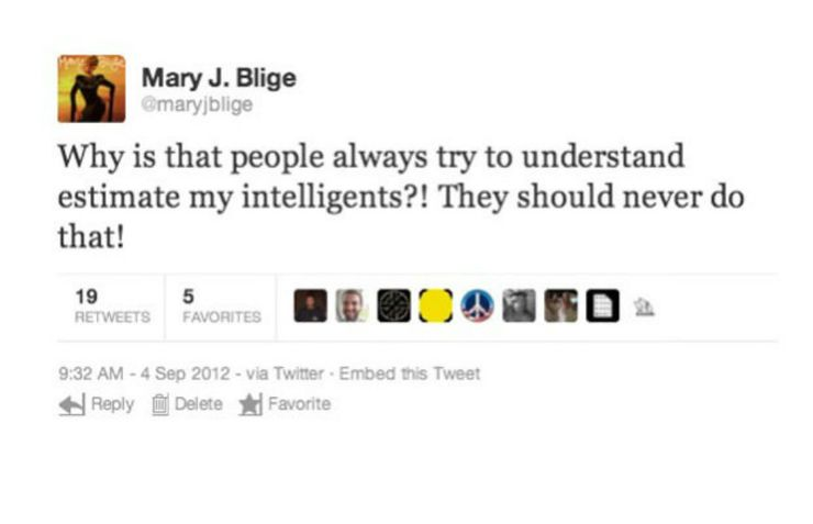 Mary J Bilge deleted tweet