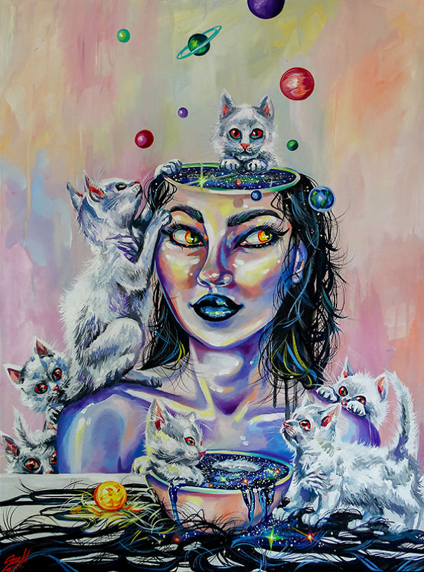 Vivien Szaniszlo zodiac signs as witches Aquarius