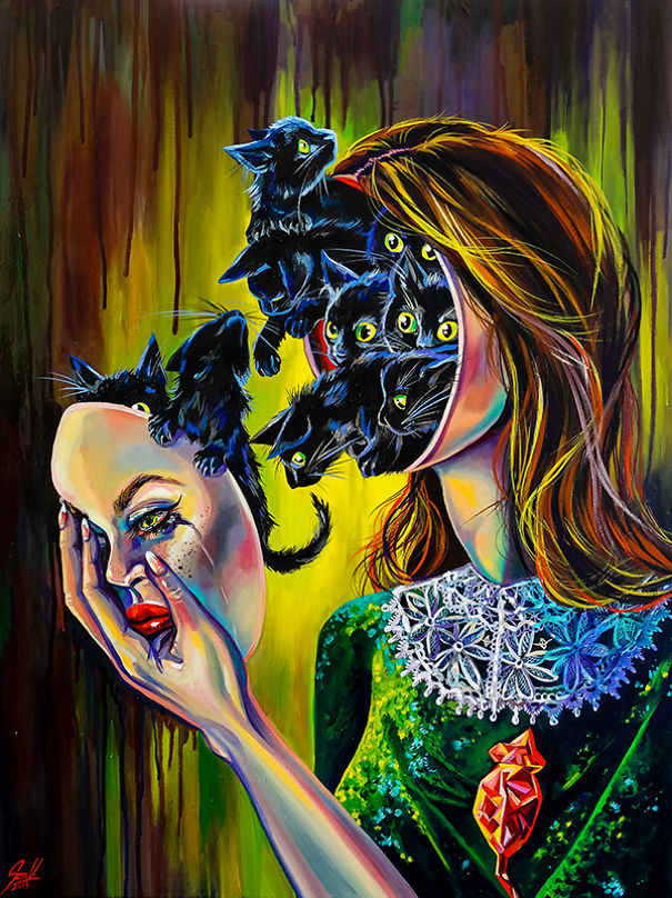 Vivien Szaniszlo zodiac signs as witches with Libra