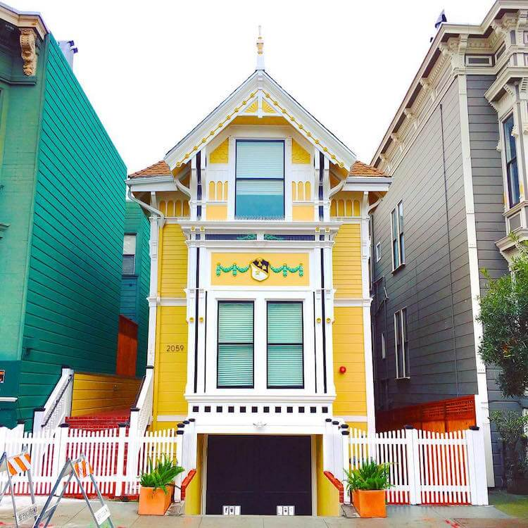San Francisco Colored Houses