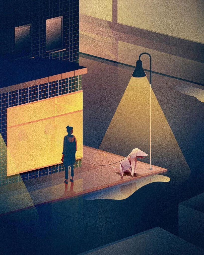 digital illustrations by Jan Siemen