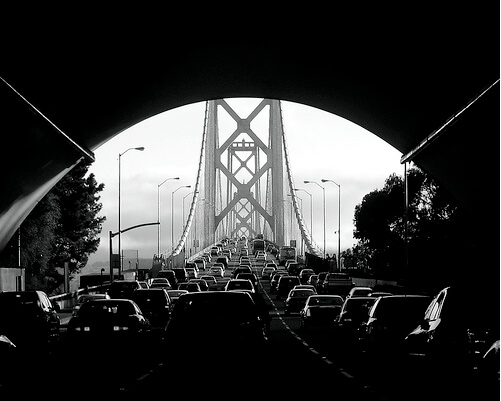 Black and white bridge pictures