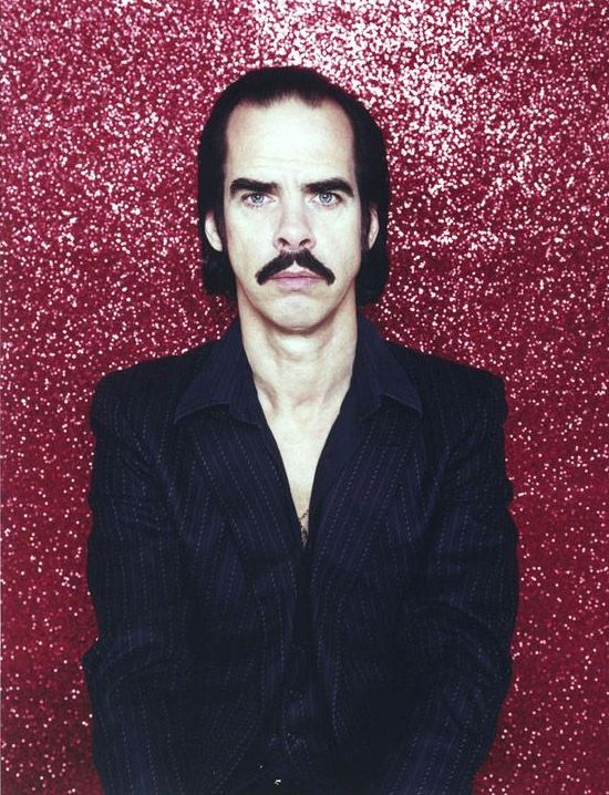 famous mustaches - Nick Cave