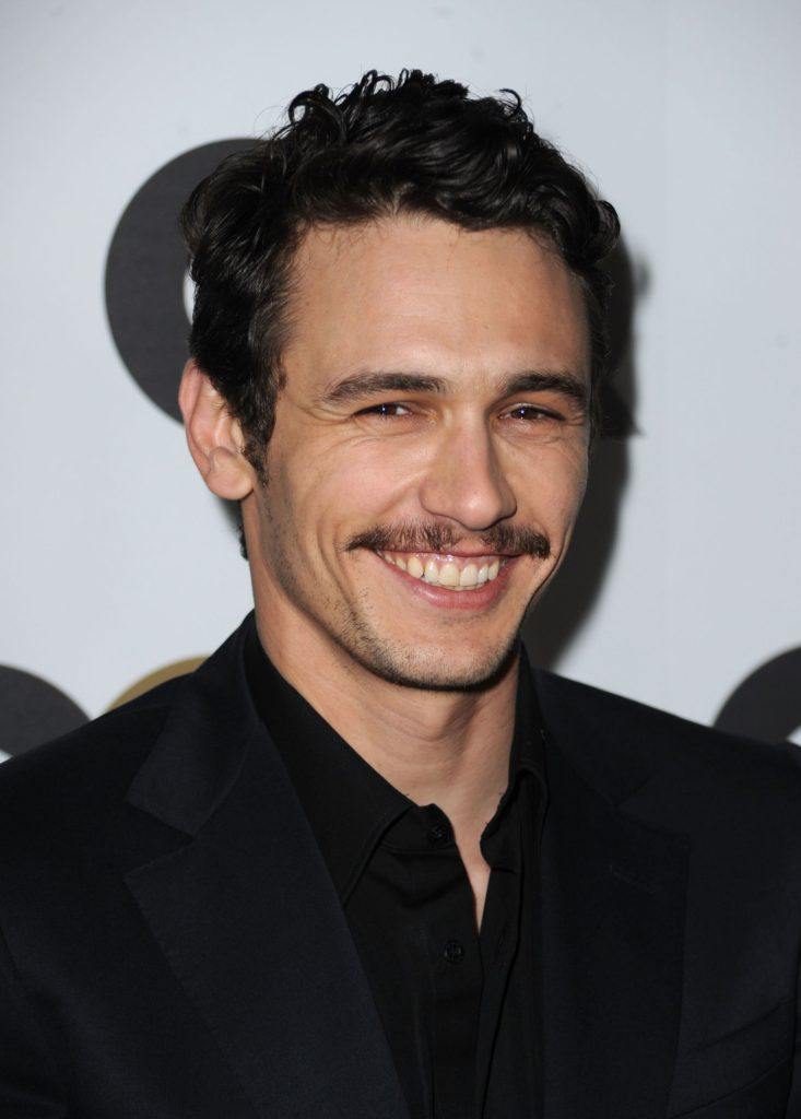 famous mustaches - James Franco