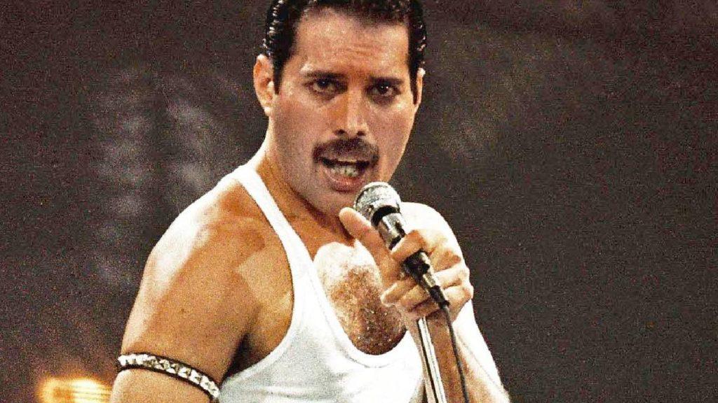 famous mustaches - Freddie Mercury
