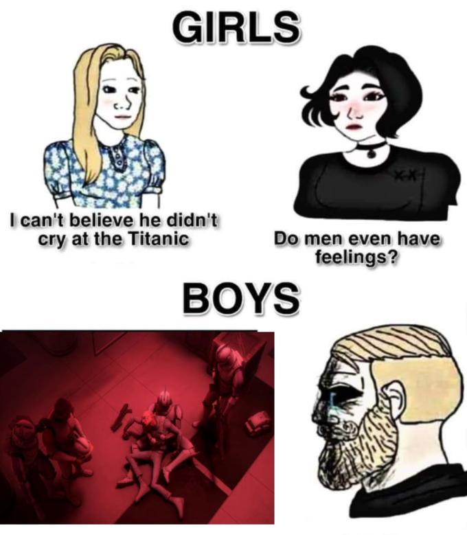 Girls vs Boys Meme