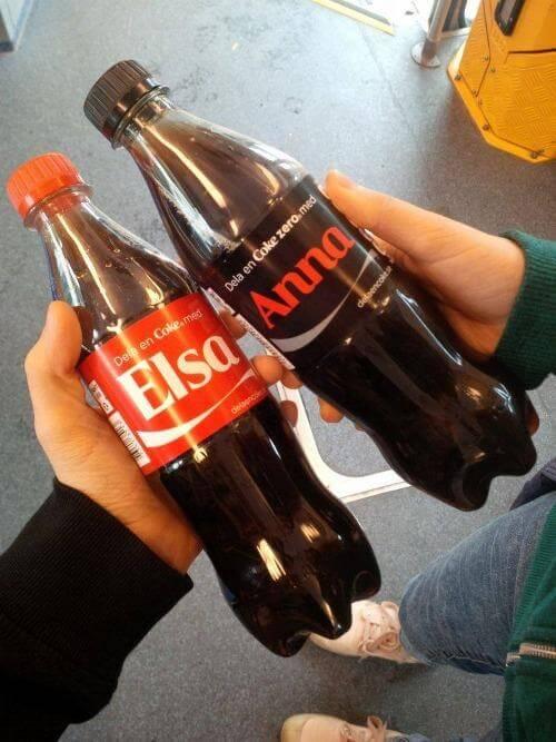 Share a Coke with Meme