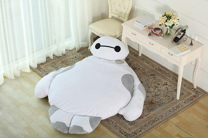 A Baymax bed