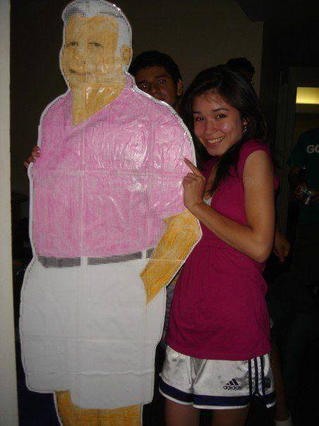 The Pink Shirt Guy cut out