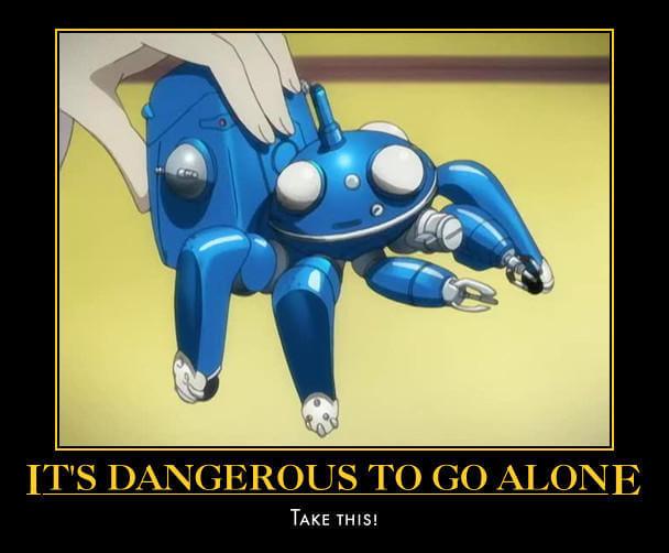 Zelda It's dangerous to go alone!