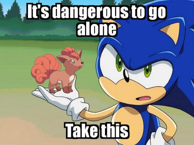 Zelda It's dangerous to go alone