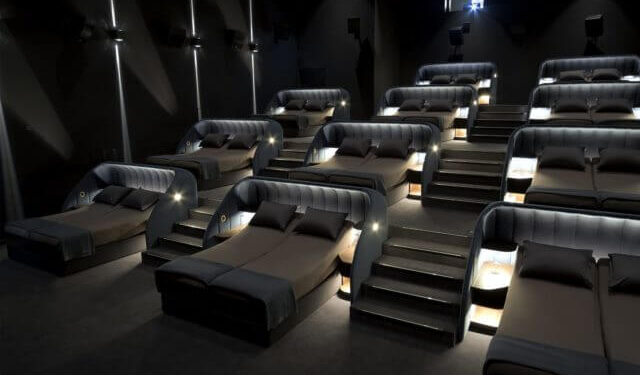 Movie Theater With Beds
